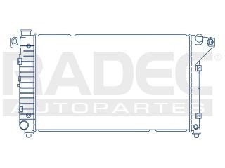 radiador dodge pick up 2002-2003 v6 v8 3.7/4.7lts automatico