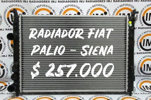 radiador fiat palio/siena/fire 00/09 mecánico