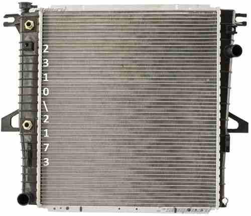 radiador ford explorer sport 4.0l v6 2001 - 2003