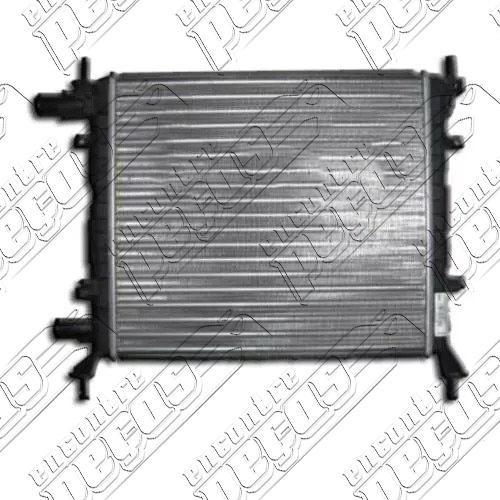 radiador ford ka zetec rocam 1.0/1.3 ate 1998 mec com ar