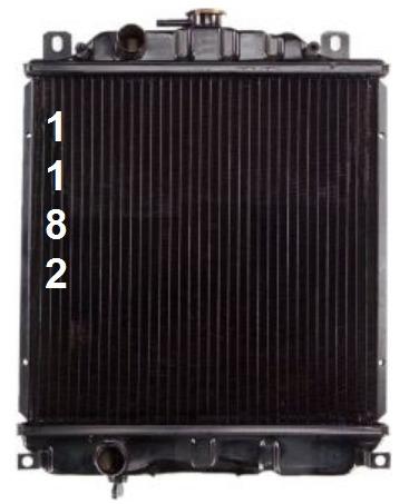 radiador geo metro 1989 - 1994 transmision manual / standard