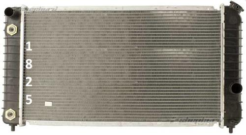radiador isuzu hombre standard 4.3l v6 1997 - 2000 nuevo!!!