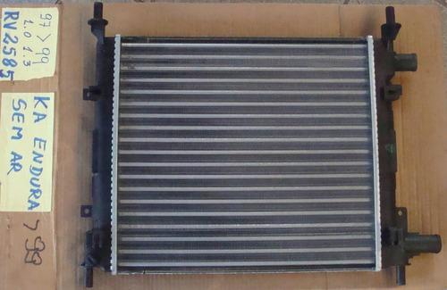 radiador ka ford 1.0 1.3 97 / 99 endura sem ar