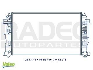radiador mercedes benz sprinter 315 2010 3.0lts c/aire std