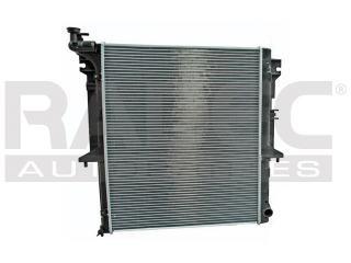 radiador mitsubishi l200 2008-2009 l4 2.5lts estandar gas lp