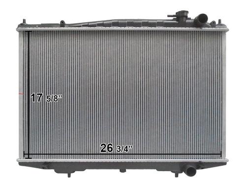radiador nissan pick up d22 2008-2015 l4 motor a gasolina