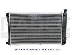 radiador nuevo chevrolet silverado cheyenne z71 2000 a 2003