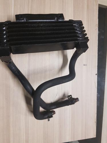 radiador óleo c/mangueiras harley road king original