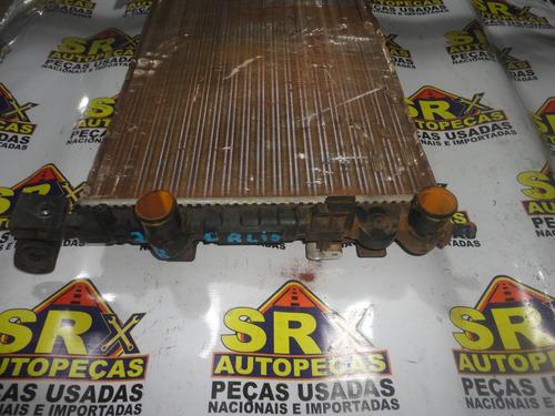 radiador palio 96/2000 original usado srx autopecas