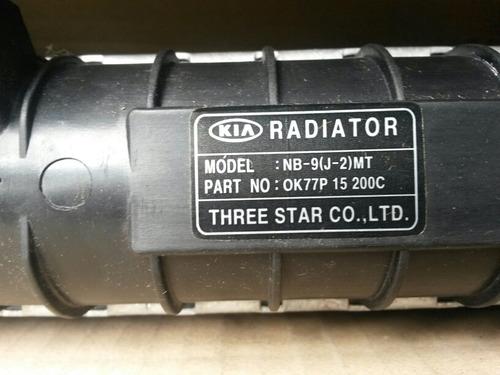 radiador para camioneta de pasajero kia