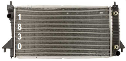 radiador para mercury sable 3.0l v6 1996 - 2005 nuevo!!!