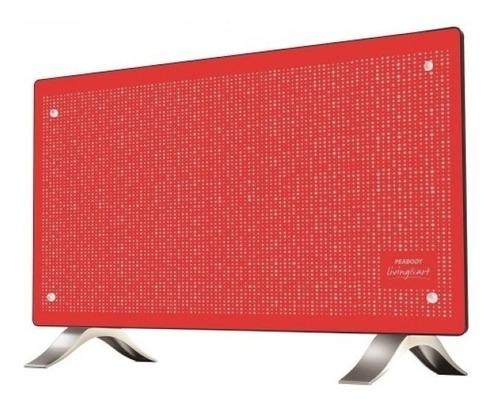 radiador peabody pe-vc20 rojo