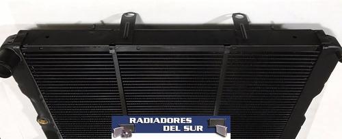 radiador peugeot 504 diesel cobre y bronce 3 filas