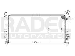 radiador pontiac aztek 2001-2002 v6 3.4/3.5 lts automatico