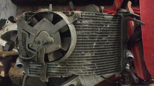radiador suzuki 600 srad 96 - 01 por partes