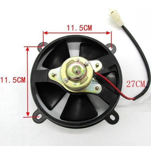 radiador termo eléctrico ventilador de refrigeración para