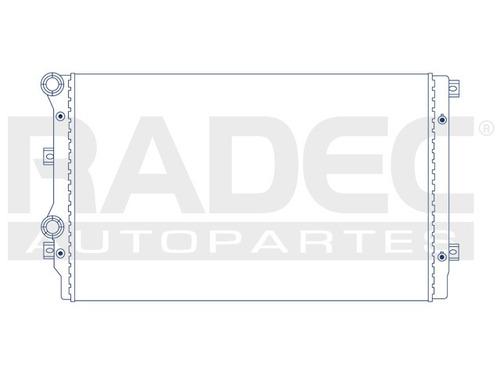 radiador  tiguan/altea/leon 08-12 2.0/2.9 lts