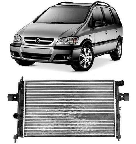 radiador zafira 1.8 2.0 2000 a 2008 sem ar visconde
