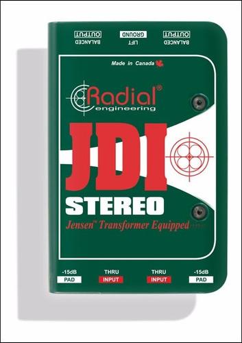 radial caja directa jdi stereo pasiva