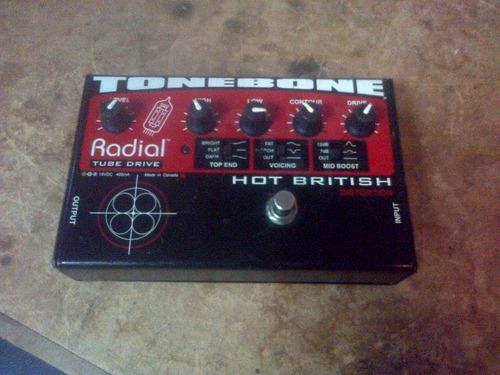 radial engineering tonebone hot british tube drive effects