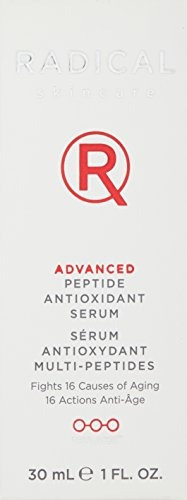 radical skincare advanced peptide antioxidant serum, 1 oz
