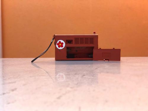 rádio 3 faixas motoradio antigo portátil funcionando