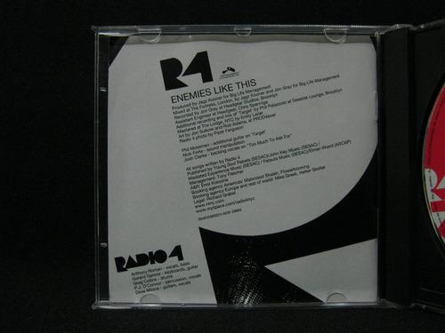 radio 4 enemies like this  - cd