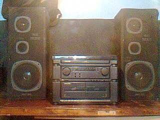 radio am e fm toca disco e fitas