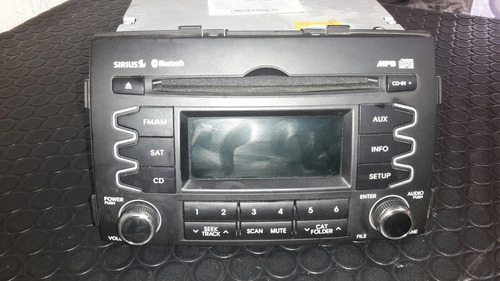radio am-fm cd bluetooth kia sorento 2011-2013