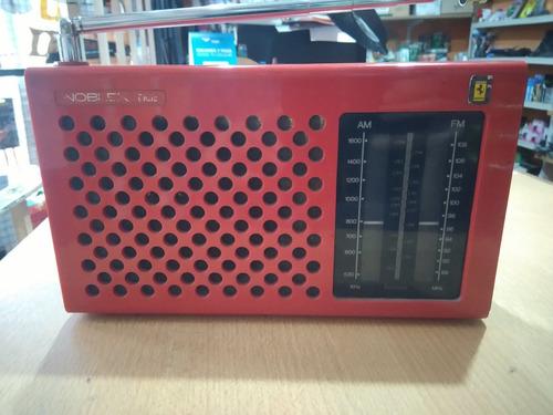 radio am fm portatil dual (pilas/220v)