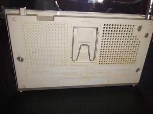 radio am-fm sony japonesa icf-s30w funcionando, impecable