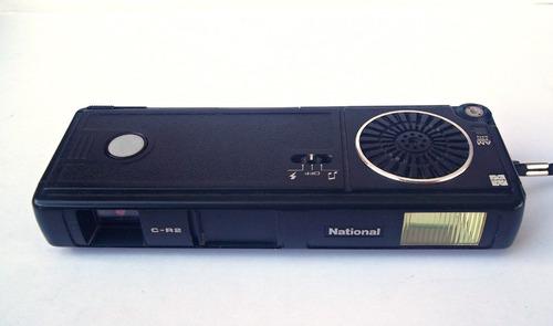 radio am y cámara fotográfica national c-r2 retro vintage