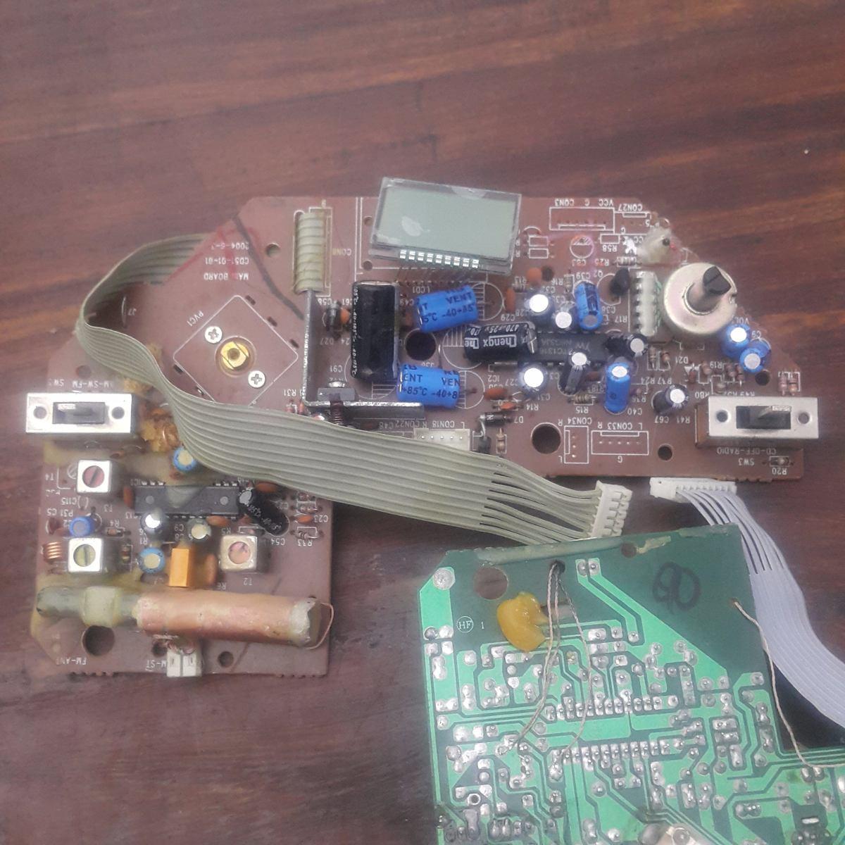 Radio Am/fm + Amplificador 2 Watts Sedex R$10