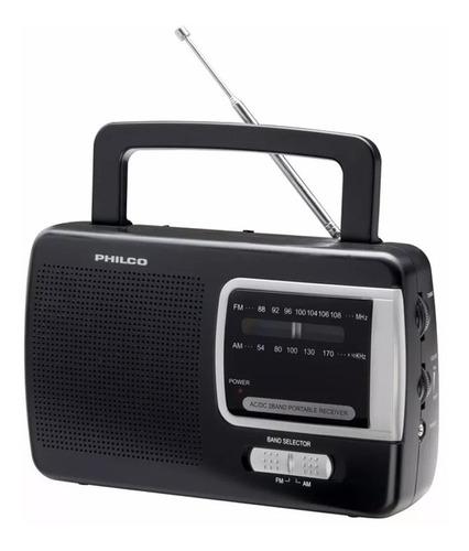 radio am/fm philco prm 50 negra