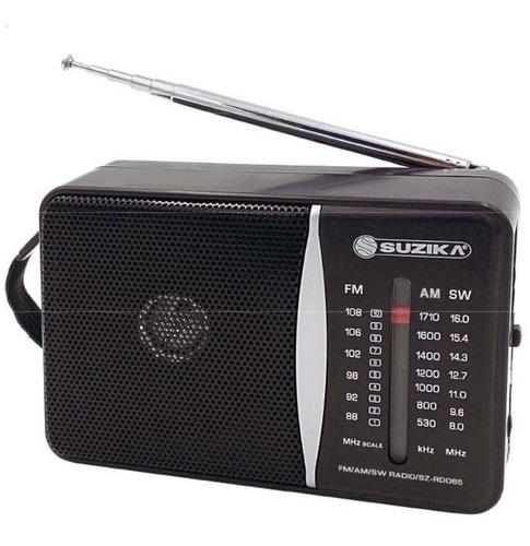 radio am/fm portatil con parlantes producto exclusivo ramos
