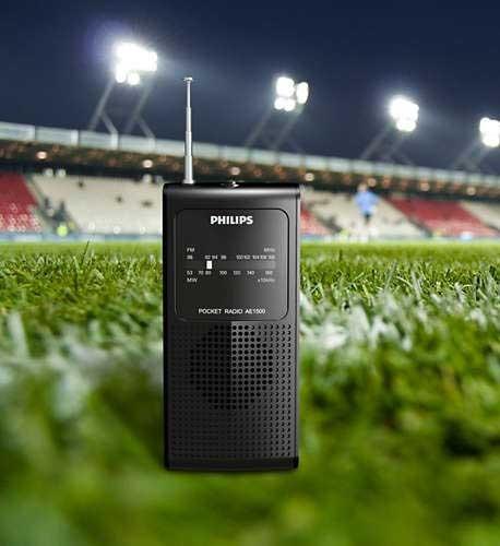 radio am/fm portatil salida p/ audifonos y altavoz, nuevo