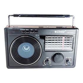 Rádio Analógico Antigo Portátil 11 Faixa Am Fm Pilha Energia