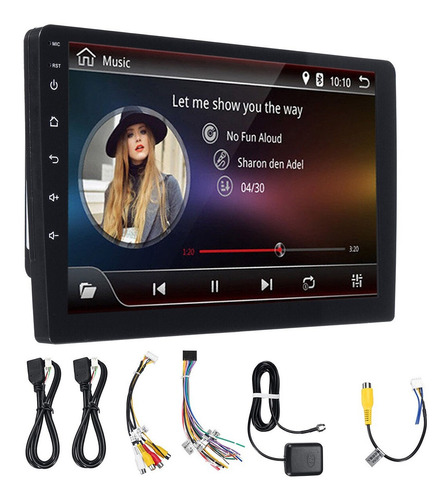 radio android 10 pulgadas full touch usb gps sd bluetooth