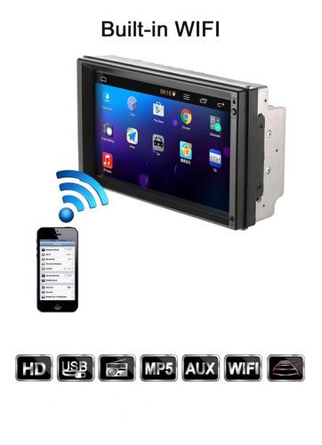 radio android 7 pantalla táctil 2 din wifi gps uber bluetoot
