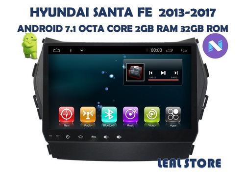 radio android 7.1 santa fe 2013-2017 octa core