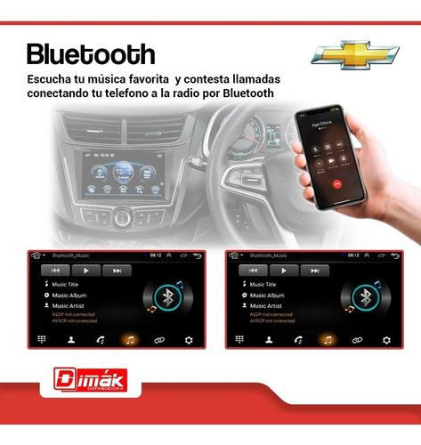 radio android chevrolet dmax 2012/19