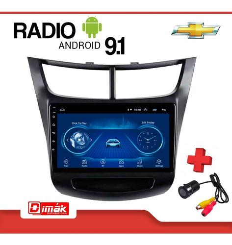 radio android chevrolet sail 2018/2020  gps wifi usb+camara!