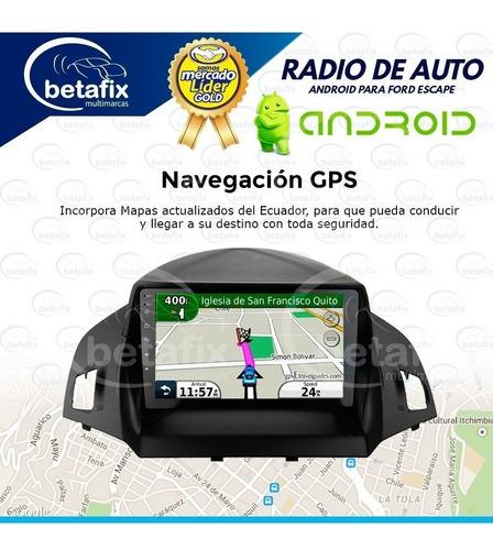 radio android ford escape gps bt mirrolink wiffi betafix ec
