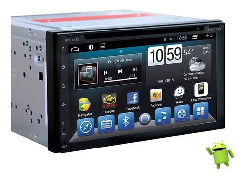 radio android gps pantalla touch 7 entrada cd bluetooth sd