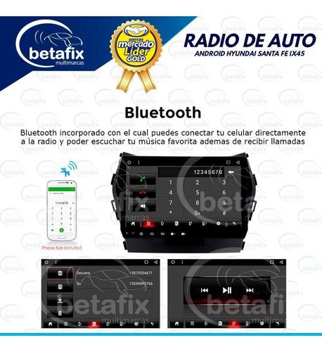 Radio Android Hyundai Santa Fe Ix45 2013 17 9 Betafix Ec