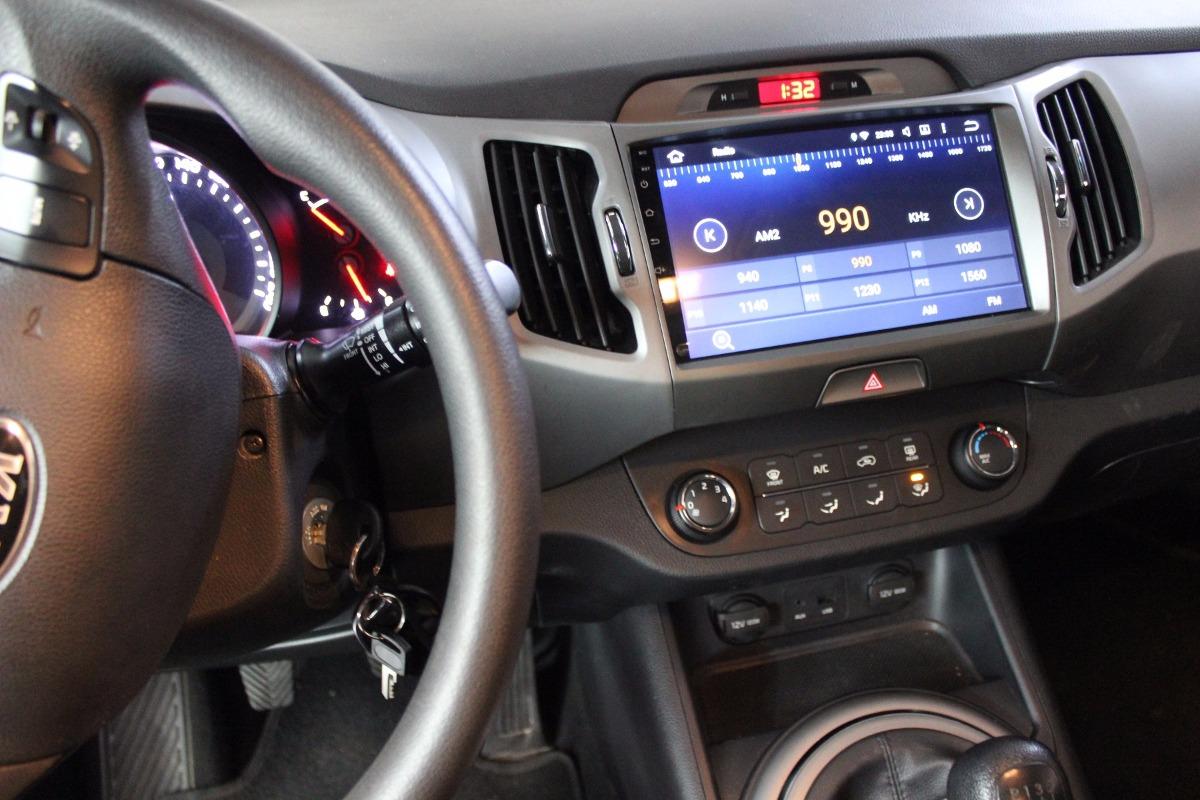 Radio Android Original Kia Sportage Revolution 2011