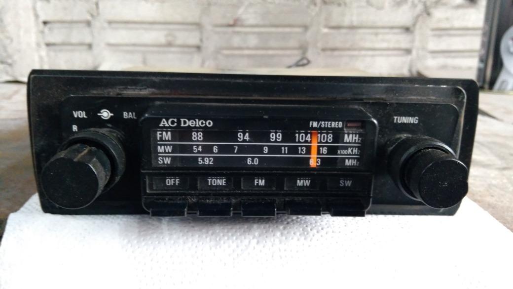Radio Antigo Ac Delco Linha Gm D�cada 7080 R 45000 Em Mercado Livrerhprodutomercadolivrebr: Delco Electronics Radio At Gmaili.net