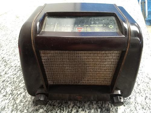 rádio antigo anos 50 mullard