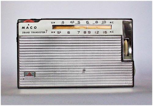 radio antigo maco national ab175m 100% funcional raro