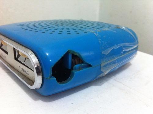 rádio antigo mitsubishi electric 7x 603t l'amour funcionando